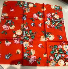 9cf5aaad257 foulard rouge fleuries kenzo
