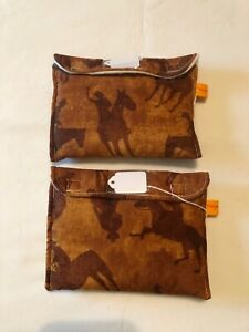 Breyer stablemate pony pocket pouch custom model horse transport fabric