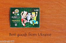 Ukraine 2012 Stamp UEFA EURO SLAVEK & SLAVKO TALISMANS of EURO MNH