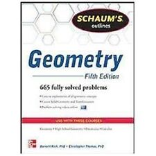 Schaum's Outline of Geometry, 5th Edition (Schaum's Outline Series), Rich, Barne