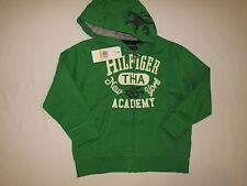 NWT TOMMY HILFIGER hoodie jacket BOY size M 5 green