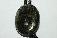 Vintage Men's Fools Gold Pyrite Bolo Tie