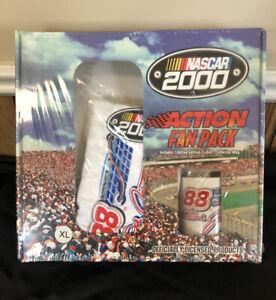 VTG Y2K NASCAR Action Fan Pack T-Shirt & Coffee Mug Dale Jarrett 88 Sports Image