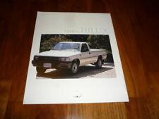 Toyota Hilux folleto España