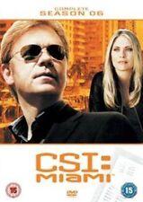 CSI Miami The Complete Season 6 - DVD Region 2