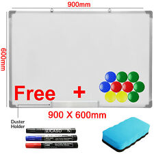 Large Dry Wipe Magnetic Whiteboard Office School Home Memo Notice Drawing Board