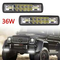 2*LED Work Light Bar Flood Spot Lights Driving Lamp Offroad Car