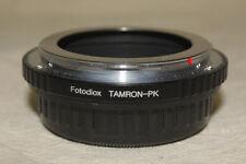 FOTODIOX TAMRON ADAPTALL TO PENTAX K MOUNT ADAPTER 7470
