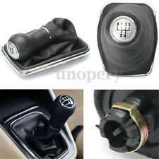 5-Speed Gear Shift Knob Stick Lever Gaitor Boot Cover For VW Bora Golf MK4 Jetta