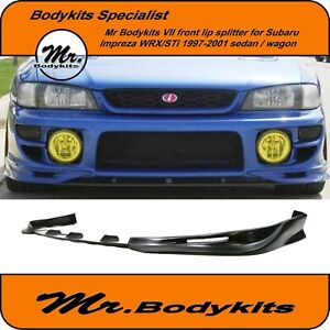 Mr Plastic VII Front Lip Splitter For GC8 Subaru Impreza WRX/STi 1997-2001