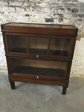 Antique Macey Co. Barrister Two Tier Mahogany Bookcase Local Pickup Only!