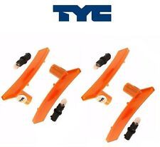 4 Mini Cooper 2002-2008 Tyc Side Marker Light in Bumper Trim Spoiler 63147165870