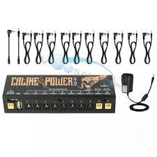 Caline Pedal Power Supply 18V 1A Input Power USB Port Guitar Accessories CP-04