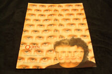 "Queen 1989 ad for hit ""I Want It All"" Freddie Mercury, Brian May, Roger Taylor"