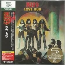 Kiss Love Gun SHM-CD Rare Cardboard Sleeve Mini LP OOP w Paper Gun replica