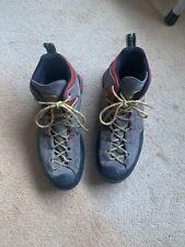La Sportiva Boulder X Mid GTX UK11 Gore-Tex Hiking Boot Grey / Red / Yellow