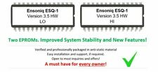 Ensoniq ESQ1 Version 3.5 OS Firmware Hidden Waves accessible ESQ-1 Eprom Upgrade