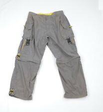 Vtg 90s Streetwear Mens XL Multi-Pocket Utility Convertible Cargo Pants Shorts