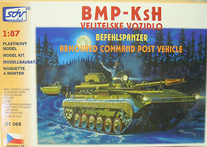 Command Tank Bmp-Ksh, Ho, 1/87, SDV, Plastic, New