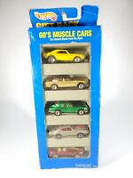 1995 Hot Wheels 60's Muscle Cars Gift Pack #13503 5 Car Set-New NIB