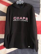 VTG Ralph Lauren mens large CHAPS hoodie teddy polar fleece size large FTOshop