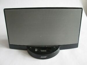 BOSE SOUNDDOCK DIGITAL MUSIC SYSTEM black DOCK ONLY, UNTESTED, SPARES OR REPAIR