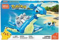 "Mega Construx Pokemon Lapras FWJ49, 8"" 2020"
