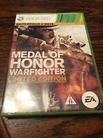 Medal of Honor: Warfighter -- Limited Edition (Microsoft Xbox 360, 2012) (T8)