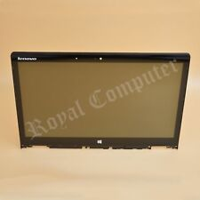 """Lenovo Yoga 3 14 80QD 80JH 14"""" 1080 FHD LCD Touch Screen Digitizer With Frame"""