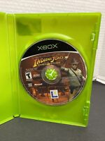 XBOX X-BOX INDIANA JONES & AND THE EMPEROR'S TOMB GAME DISC ONLY lucasarts