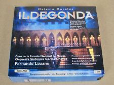 Coffret 2CD Opéra Melesio Morales Il Degonda / Davalos Hernandez 1994