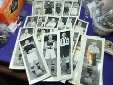 vtg football player cards topical times 66 total published by dc thompson 1930s