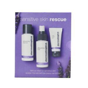 Dermalogica Sensitive Skin Rescue Kit: UltraCalming Cleanser 50ml/1.7oz + Mens