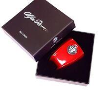 Neuf alfa romeo giulietta & giulia clé rouge cover trim & boîte de présentation d'origine