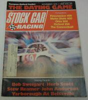 Stock Car Racing Magazine Firecracker 400 Motor State 400 November 1975 072014R