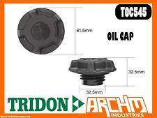 TRIDON TOC545 - OIL CAP - PLASTIC SCREW - COVER ORIFICE ENGINE OIL SUPPLY