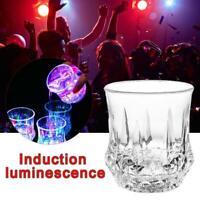 Buntes LED-glühendes Bier-Schalen-Induktions-blinkendes Weinglas KTV-Bar-Getränk