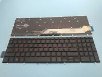 NEW For DELL Inspiron gaming 15 7566 5567 7567 5665 English Keyboard Red Backlit