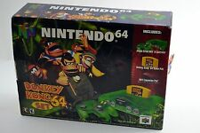 Nintendo 64 Jungle Green Console Donkey Kong 64 Bundle Brand New *Read Desc*