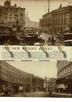 New Regent Street, London,1923, Book Illustration, 1938