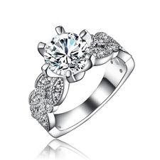 Women's 3.5 Carat Stone Vintage Style Engagement Ring Wedding Ring Size 6 R150