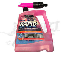 Wet & Forget Rapid - Removes Mould, Mildew. Sanitising Cleaner