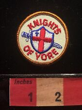KNIGHTS OF YORE Patch With Christian Cross 67WS