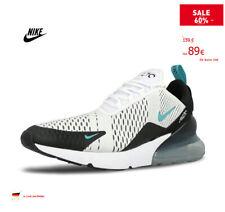 Nike Air Max 270 Original Athletisch Herren/Damen Turnschuhe Sport, Grau x Grün