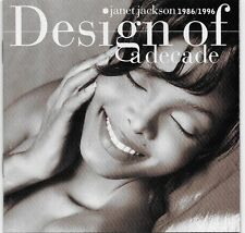 Design of a Decade: 1986-1996 by Janet Jackson CD 1995 A&M USA