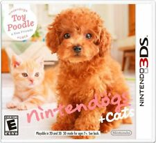 Nintendogs + Cats: Toy Poodle and New Friends [Nintendo 3DS, Pet Simulation] NEW