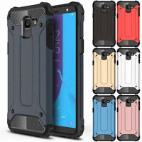 For Samsung Galaxy J4 J6 J8 J3 J7 Heavy Duty Rubber Rugged Armor Hard Case Cover