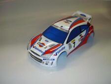 0054 - Ford Focus Rally 1/10 scale RC Body Clear 200mm Traxxas 4tec Tamiya