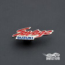 Suzuki SAVAGE LS 650 Boulevard S40 Motorcycle Metal Badge Pin