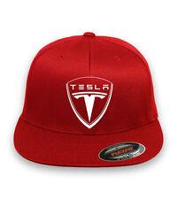 TESLA Motor Flex Fit HAT FREE SHIPPING  Choose cap size and color  S/M, XL Vinyl